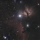Horsehead Nebula & Flame nebula,                                Tiago Matos