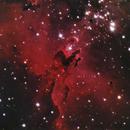 M 16 Eagle Nebula with asi 120 mc,                                Marco Brusa