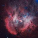 IC2944 - IC 2948 - Running Chicken Nebula,                                Renan