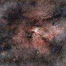 The Rim Nebula - NGC6188,                                Mateus