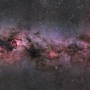 The autumn mosaic of the Milky Way,                                Rafael Schmall