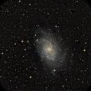 M33 Dreiecksgalaxie,                                Holger Gräpel