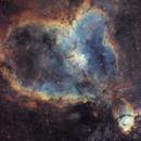 IC1805, the Heart Nebula,                                Jari Saukkonen