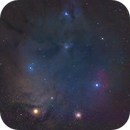 Rho Ophiuchi Region,                                AstroMichael