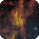 DWB 111, The Propeller Nebula (HA,OIII),                                Randal Healey