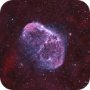 NGC6888 - HOO + RGB STAR,                                Martin Dufour