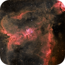 IC1805 the Heart nebula ,                                Steve Coates