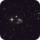 Arp 273, A Rose Made of Galaxies,                                Sergey Trudolyubov