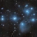 M45 - The Pleiades,                                lefty7283