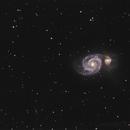 Messier 51,                                Stefan Bauer