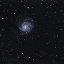 M101-Pinwheel Galaxy,                                Ondo
