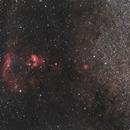 Area around NGC-7822,                                Dariusz Firek
