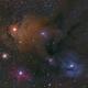 Rho Ophiuchi molecular cloud system 200mm lens,                                Kurt Zeppetello