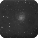 Test of M101 with no Flat, Dark e Bias,                                Agostino Lamanna