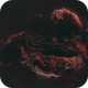 The Dragon in the sky - The Veil Nebula - Starless vision,                                Jian Yuan Peng
