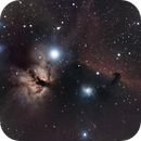 Horsehead Nebula - OSC - No Filter - 35x300s - processed 2021-09-04,                                Christopher G. Miller