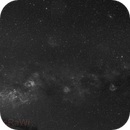 Widefield Ha: from cygnus to soul nebula,                                MicRaWi