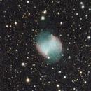 M27 Dumbell Nebula,                                Mahmange