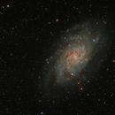 Messier 33,                                Steve Siedentop