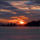 Sunset northern alps,                                Astro-Clochard