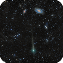 Comet C/2017 T2 PanSTARRS Passes by Galaxies M81 and M82,                                Terry Hancock