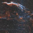 Veil Nebula Narrowband HOO,                                ozstronomer