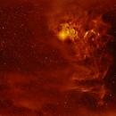 IC 405 The Flaming star nebula,                                Jim