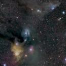 Rho Ophiuchi cloud complex,                                Ken Yoshimura