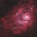 M8, Lagoon Nebula,                                Lynn K