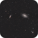 M81 and M82, Bode's and Cigar Galaxies,                                Vlaams59