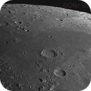 Northern lunar landscapes just before 1st quarter,                                Ofer Gabzo