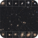 Galaxies Galore (206 megapixel - 4 Panel Mosaic),                                Dennis Sprinkle