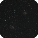 The Flying Geese Custer, NGC 6939, and the Fireworks Galaxy, NGC 6946,                                Steven Bellavia