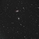 The Draco Triplet - NGC 5985, 5982, 5981,                                Joshua Bury