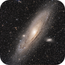 Andromeda M31,                                alistairmac