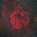SH2-240/Simeis 147/Spaghetti Nebula in HaRGB,                                Rick Stevenson
