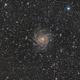 IC-342 'Hidden Galaxy' LRGB,                                Pam Whitfield