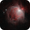 Great Orion Nebula in HOO - quick & dirty,                                Aaron Freimark