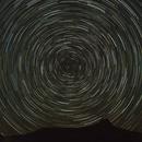 Polaris Star Trail - Big Bend State Park,                                Michael Sanford