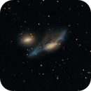 "NGC 4438 ""The Eyes"",                                Carlo Caligiuri"