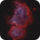 Soul Nebula - IC1848 - HalphaOIII - Bicolor,                                Arno Rottal