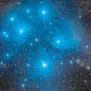 The Pleiades - M45,                                Eric Coles (coles44)