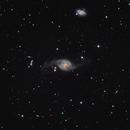 NGC 3718, NGC 3729 & Hickson group 56 (Ursa Major),                                Marko Emeršič