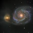 Messier 51 Whirlpool Galaxy,                                yatsze