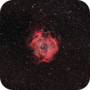 Rosette Nebula (with unmodified DSLR - February 2021),                                Cluster One Observatory