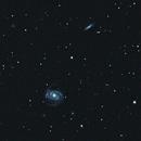 M100 and Galaxies around,                                bbonic