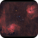 Tadpoles and Flaming Star Nebula,                                Josh Smith