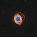 Helix Nebula NGC 7293 Eyeballing the dawning of the age of Aquarius,                                Nick Axaris
