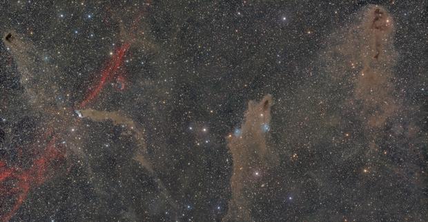 Around Cepheus : LDN1221- SNR110.3+11.3-DeH5-LDN1217-VDB152 / LDN1235 / LDN1251,                                Idir Saci