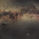 Milky way between Cygnus and Aquila,                                Janos Barabas